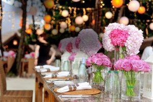 flores para eventos a domicilio valencia
